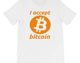 Bitcoin T-shirt original bitcoin Core I accept Bitcoin Short-Sleeve T-Shirt