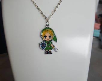 Zelda necklace/keyring