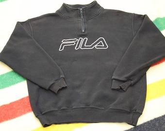 Vintage FILA 1/4 Zip Sweater