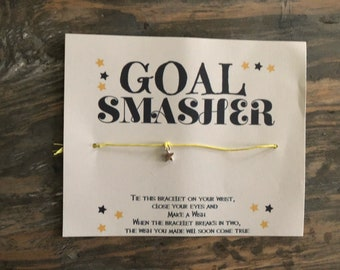 Goal smasher wish bracelet .Boss wish bracelet.Motivation wish bracelet.Inspiration wish bracelet.Friendship bracelet