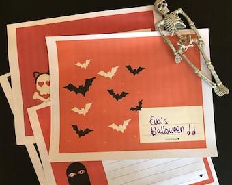 Printable Halloween Journal