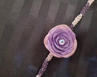 Violet Rose Choker