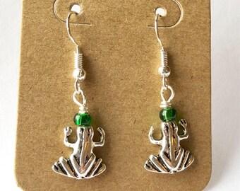 Frog Earrings