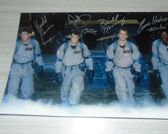 Authentic Ghostbusters Signed Autographed Photograph Dan Aykroyd Harold Ramis Bill Murray