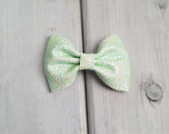 ST PATRICK'S DAY bow | baby headband | baby st Patrick's day  bow | St Patrick's day clip | St Patrick's day headband