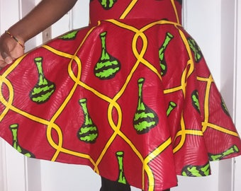 Kitenge Circle Skirt