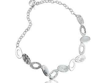 Multi Oval Necklace