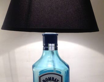 Recycled Gin bottle lamp