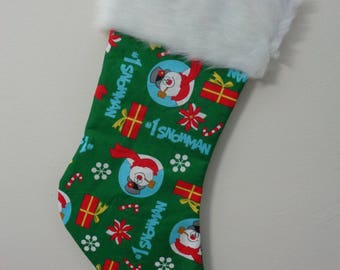 Frosty the Snowman Stocking