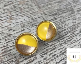 12mm canary yellow