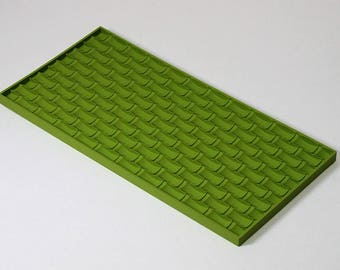 Texture sheet Bricks, Flexible polymer texture matt, Polymer Clay Texture Plate, Impression Stamp, Texture Stamp for soap