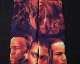 Paid in full custom socks