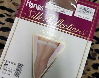 Vintage Thigh High Nylon Stockings
