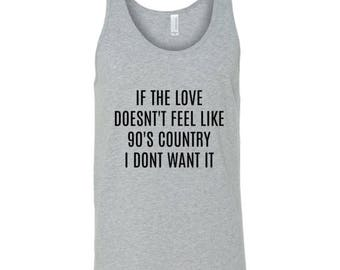 Country Girl Tank Top- Country Love Shirt- Gray Country Girl Tank
