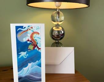 Fine Art Photo Card 'Dragon Dreams'