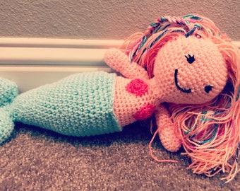 Mermaid Amigurimi Doll