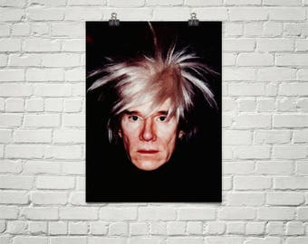 Andy Warhol Poster, Premium Semi-Gloss Photo Paper Poster