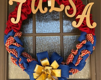 University of Tulsa Wreath