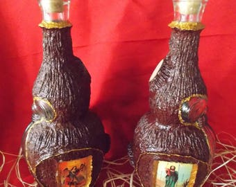 Brandy Bottle with icon, Serbia Ornament, Unique bottle Ortohodox, Orthodox Gift, Serbian gift, Christmas or Slava, Orthodox souvenir-Serbia
