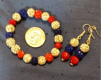 Patriotic Red white and blue set