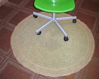 Eco-mat made of jute fiber (104 cm)
