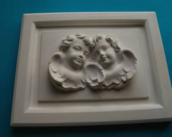 Angels Putty | Wall Relief | Border Image Relief | Plaster · Deco | Plaster