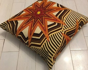 Wapow! African Print Cushion Cover