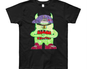 Dance Monster/100% Cotton/Youth Short Sleeve T-Shirt
