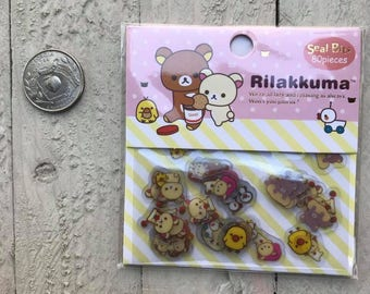 San-X Rilakkuma Flakes - 80 pcs/sack