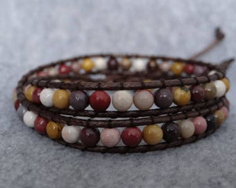 Girl Pearl wrap bracelet