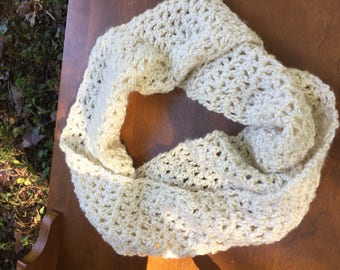Winter Wonderland Crochet Mobius Scarf