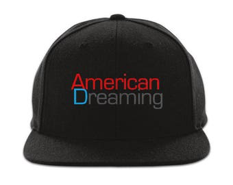 NEW American Dreaming Snap Back Hats Red Fits All