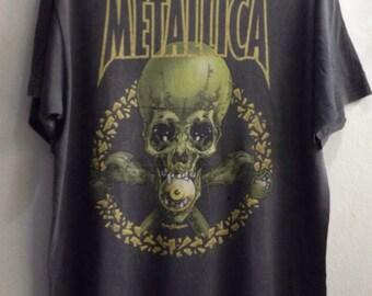 Vintage Metallica pushead Europe 1998