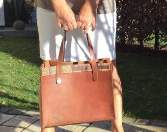"""Leather Shopper """"because"""""""