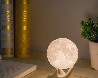 Touch Romantic Moon Light Lamp