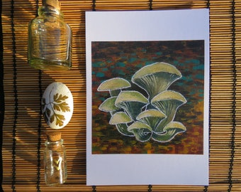 Mushrooms of the Forest floor - Print