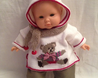 Corolla is 36cm handmade baby clothes