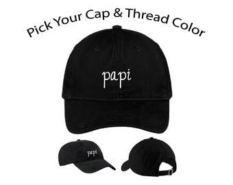 Papi Dad Cap, Papi Dad Hat, Dad Cap, Dad Hat, Funny Hat, Cap, Hat, Cap Daddy