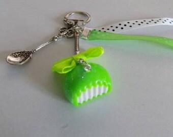Gourmet key neon green