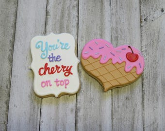 Cherry on Top Buttercream Cookie Boxed Set