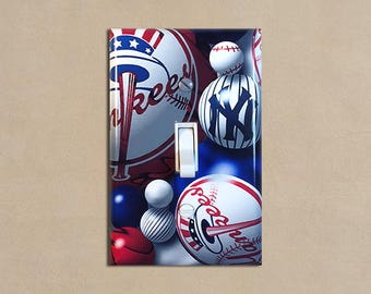 MLB - New York Yankees 2 - Light Switch Plate Covers Home Decor Outlet