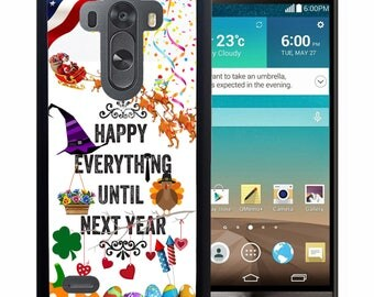 All Holidays Rubber Case For LG  3, 4, 5, 6