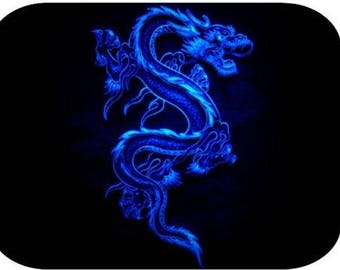 Mouse Pad - Blue Dragon