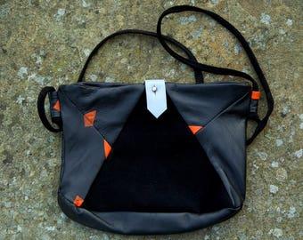 RU Italian leather hand bag
