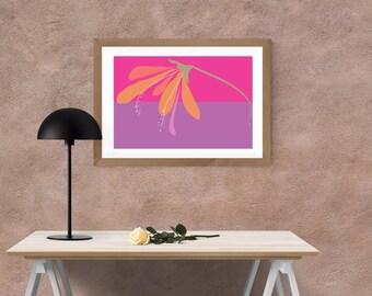 Flower Digital Printable Wall Art