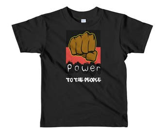 Power To The People Short sleeve kids t-shirt
