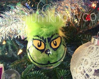 Mr. Grinch Ornament