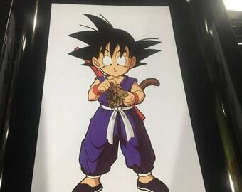 """Goku Dragonball Z Rolling Tray 6""""x9"""""""