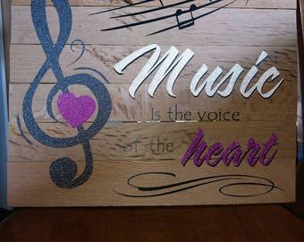Music plaque