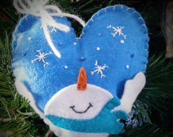 Let it Snow Christmas Ornament